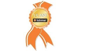 19-mai-2013   Tobimar a lansat sigla aniversara pentru sarbatorirea celor 15 ani de existenta