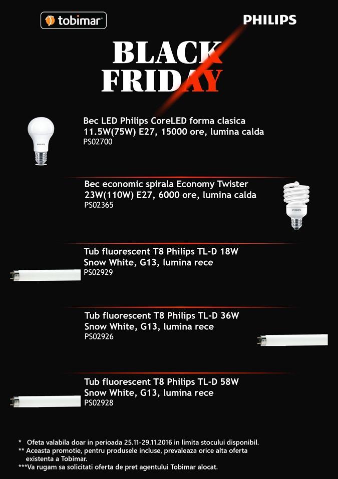 Black Friday 2016, la Tobimar