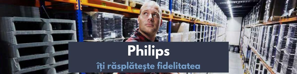 Philips îți răsplătește fidelitatea. Ediția de toamnă 2018