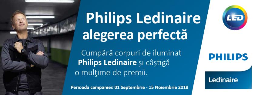 Philips Ledinaire – Alegerea perfecta. Ediția de toamnă 2018