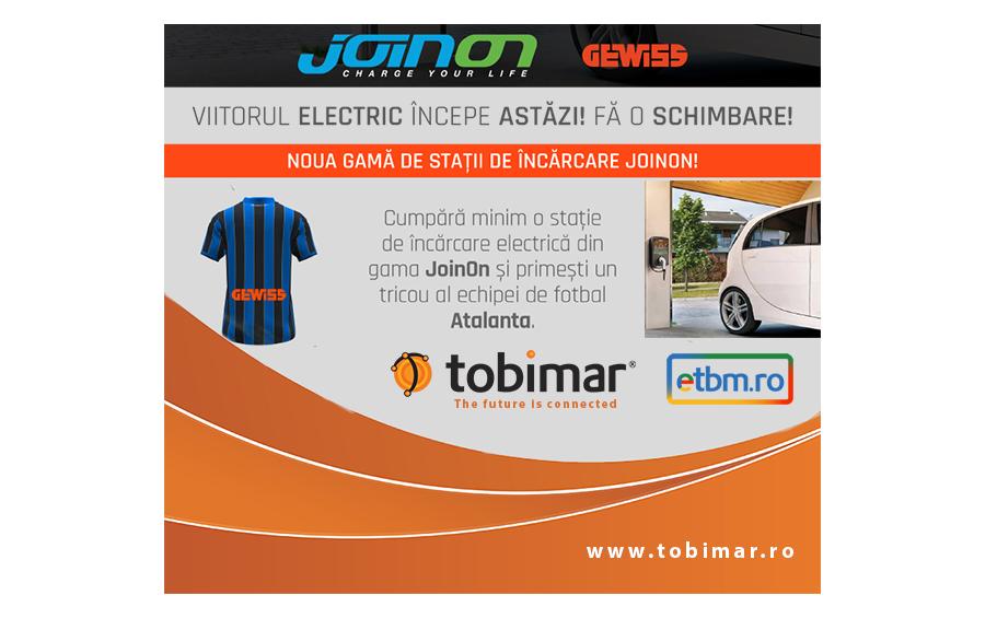 Viitorul electric începe astăzi cu Gewiss JoinOn